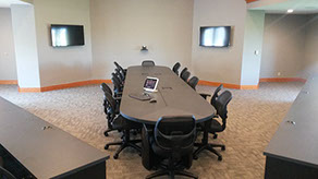 4TEC Integration | One Touch Custom Conference System Solution w/ Table