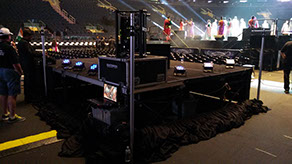 4TEC Integration & Studio 44 Productions | Hologram for Madison Square Garden Indian Prime Minister